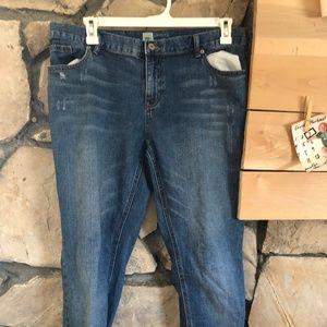 Mossimo Skinny Boyfriend Denim Jeans